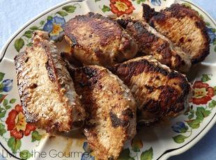 Marinated Boneless Pork Chops