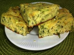 Zucchini and Bisquick Squares Recipe