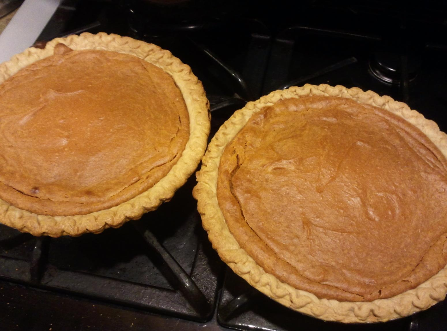 Deep Dish Sweet Potato Pies Recipe