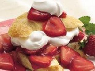 15 Minute Gourmet Strawberry Shortcake Croissants Recipe