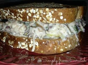 Lizzy's  Famous  Pecan Chicken Salad Recipe