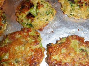 Baked Brocolli Patties