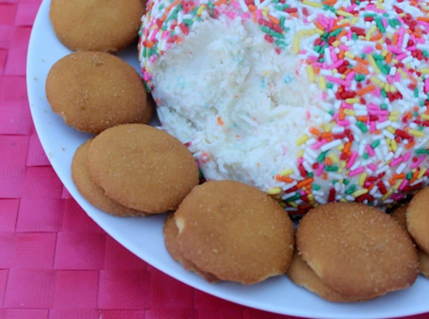 Funfetti Cake Cheese Ball Recipe