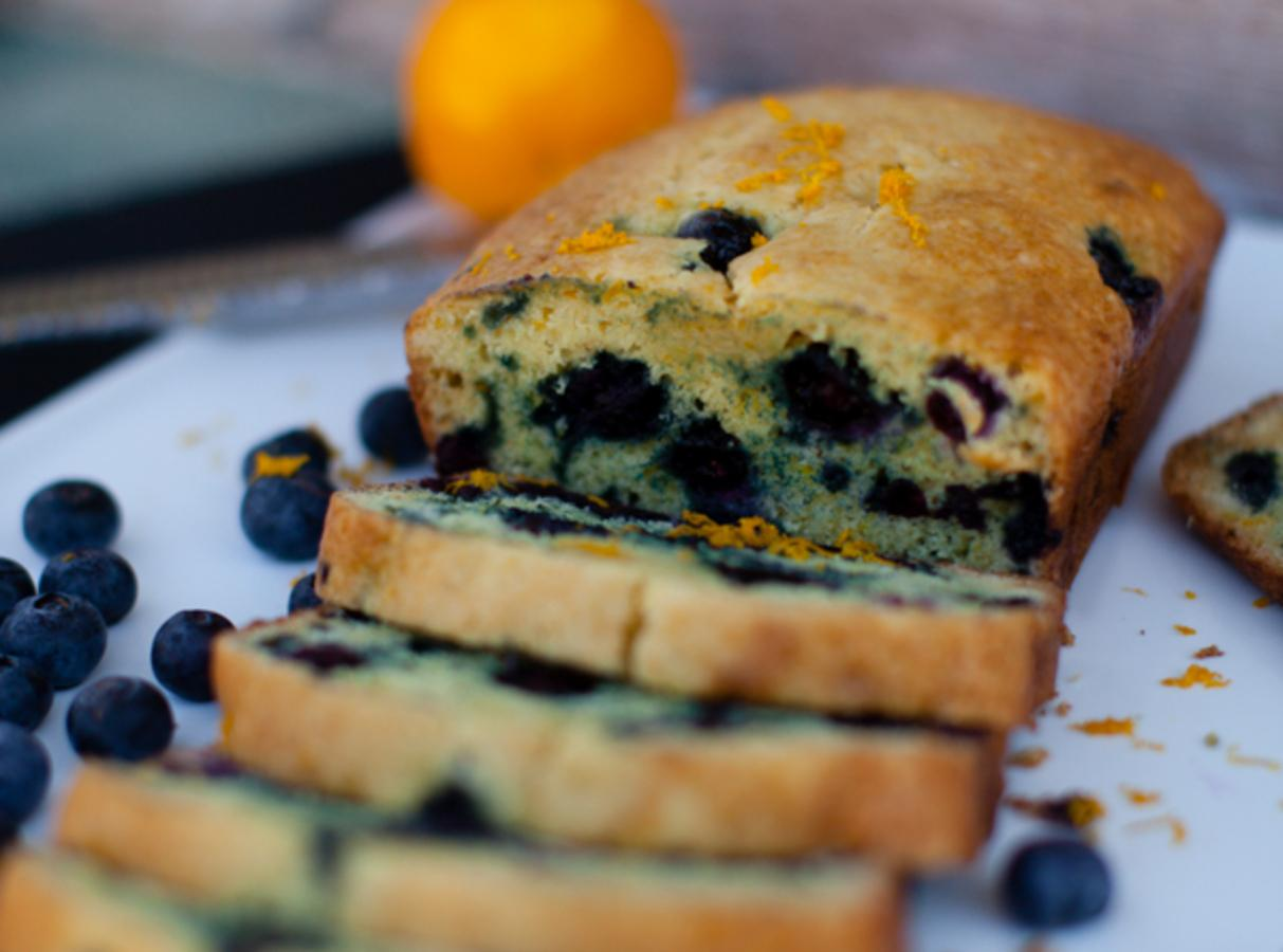 Blueberry Orange Bread Recipe 2 | Just A Pinch Recipes
