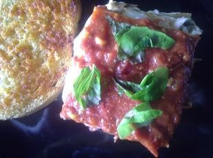 MM's Florentinga (Florentine style lasagna)