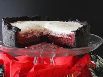 Red Velvet Mississippi Mud Pie Recipe