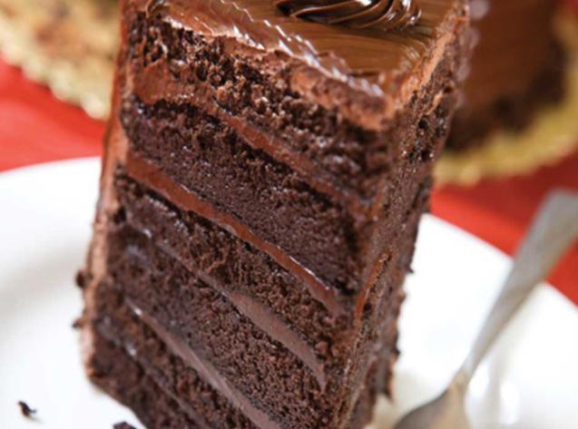 Six Layer Chocolate Cake Recipe 2 | Just A Pinch Recipes