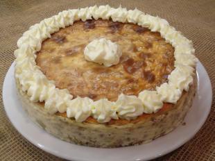 Pistachio-Coconut-Amaretto Cheesecake