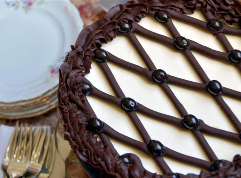 Cappuccino Fudge Cheesecake Recipe 2 | Just A Pinch Recipes