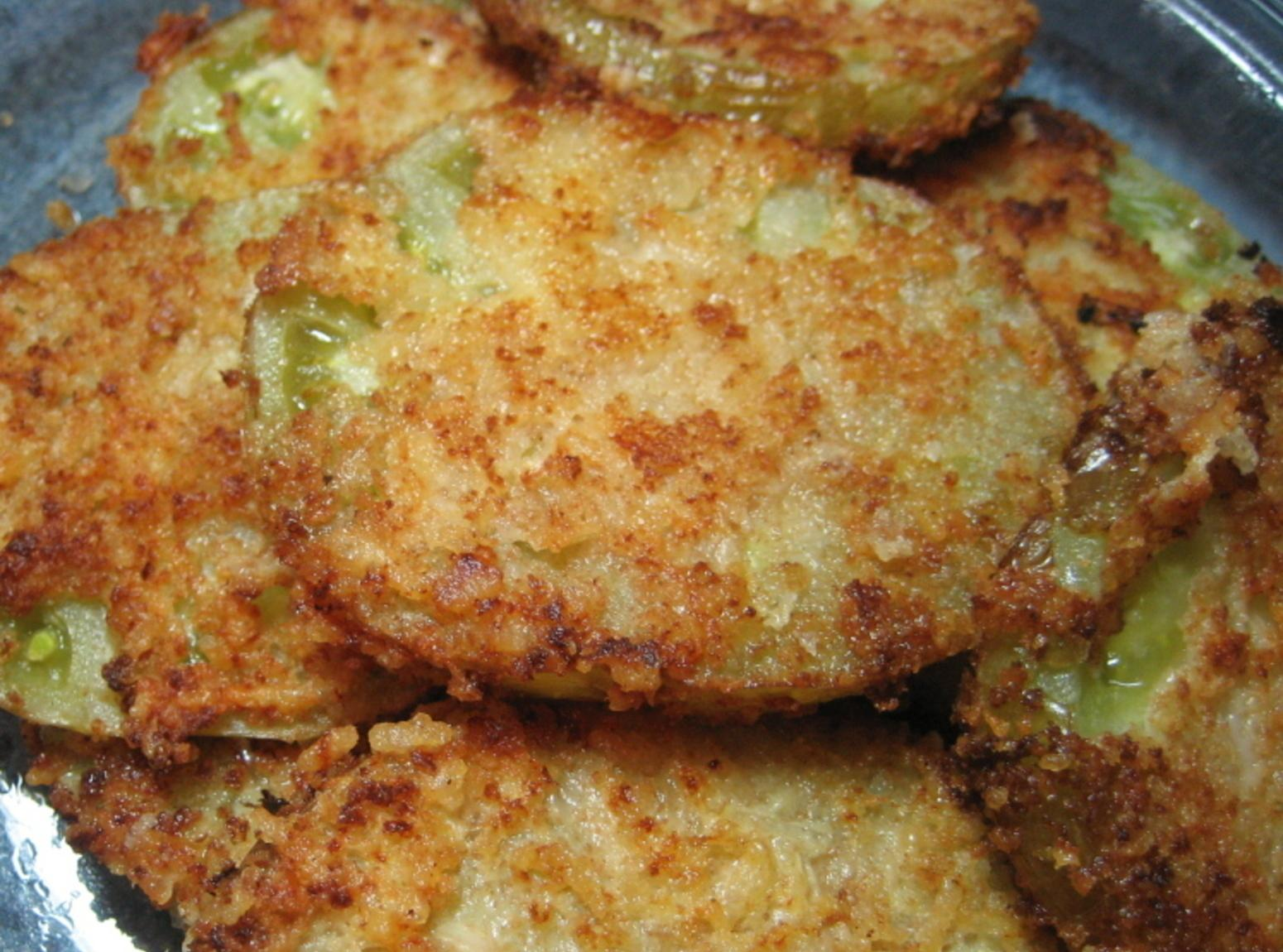 Susan's Fried Green Tomatoes Recipe