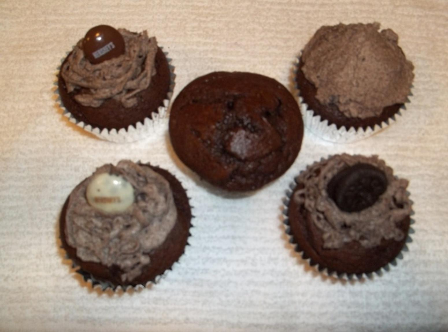 Chocolate Lovers Oreo Cupcakes Recipe