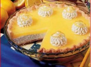 Lemon Topped Cheese Cake Recipe