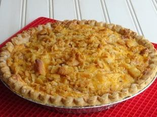 Bacon Onion Tomato Pie Recipe