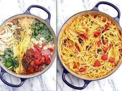 Blow your MIND Tomato Basil Pasta! Recipe