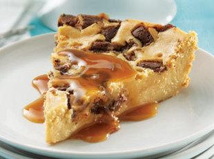 Impossible Toffee Cheesecake
