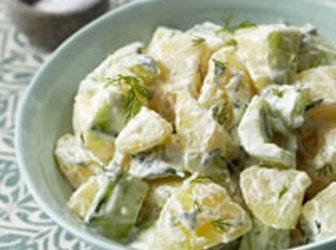 Tzatziki Potato Salad Recipe | Just A Pinch Recipes