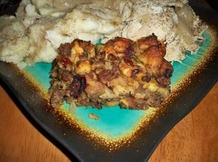 Sausage, Fig and Cranberry Stuffing-Annette's