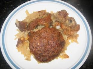 Salisbury Steak Casserole - Crock Pot or Oven Recipe