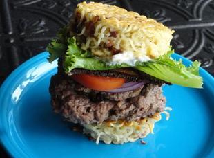 Big Stuffed Behemoth Bacon Cheese Burger Recipe
