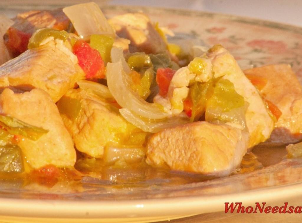 Crockpot Green Chile Pork Stew Recipe 2 | Just A Pinch Recipes