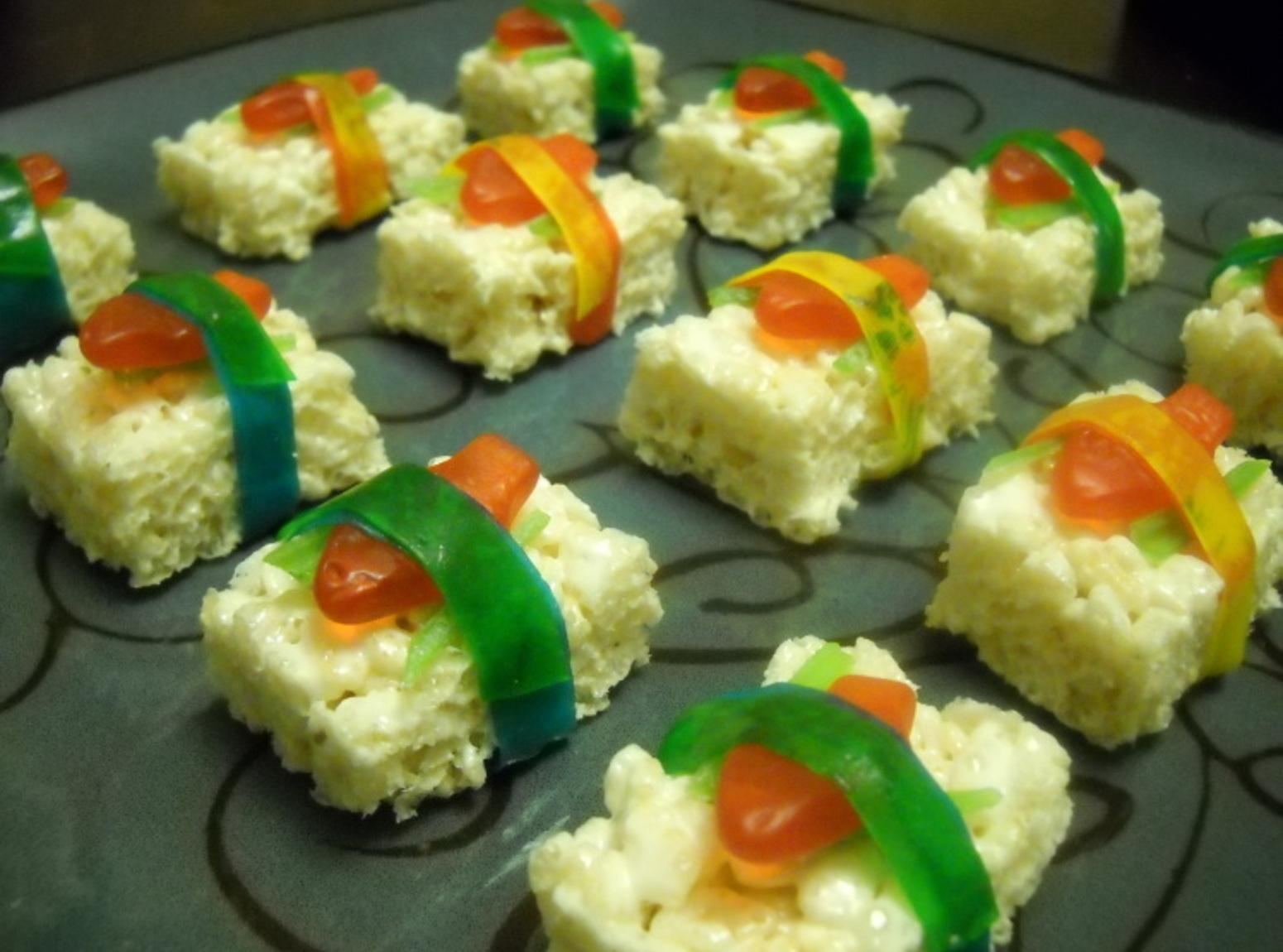 swedish fish candy sushi recipe just a pinch recipes