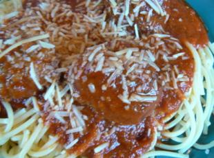 Italian Meatballs in Sauce (Moose, Pork & Beef) Recipe