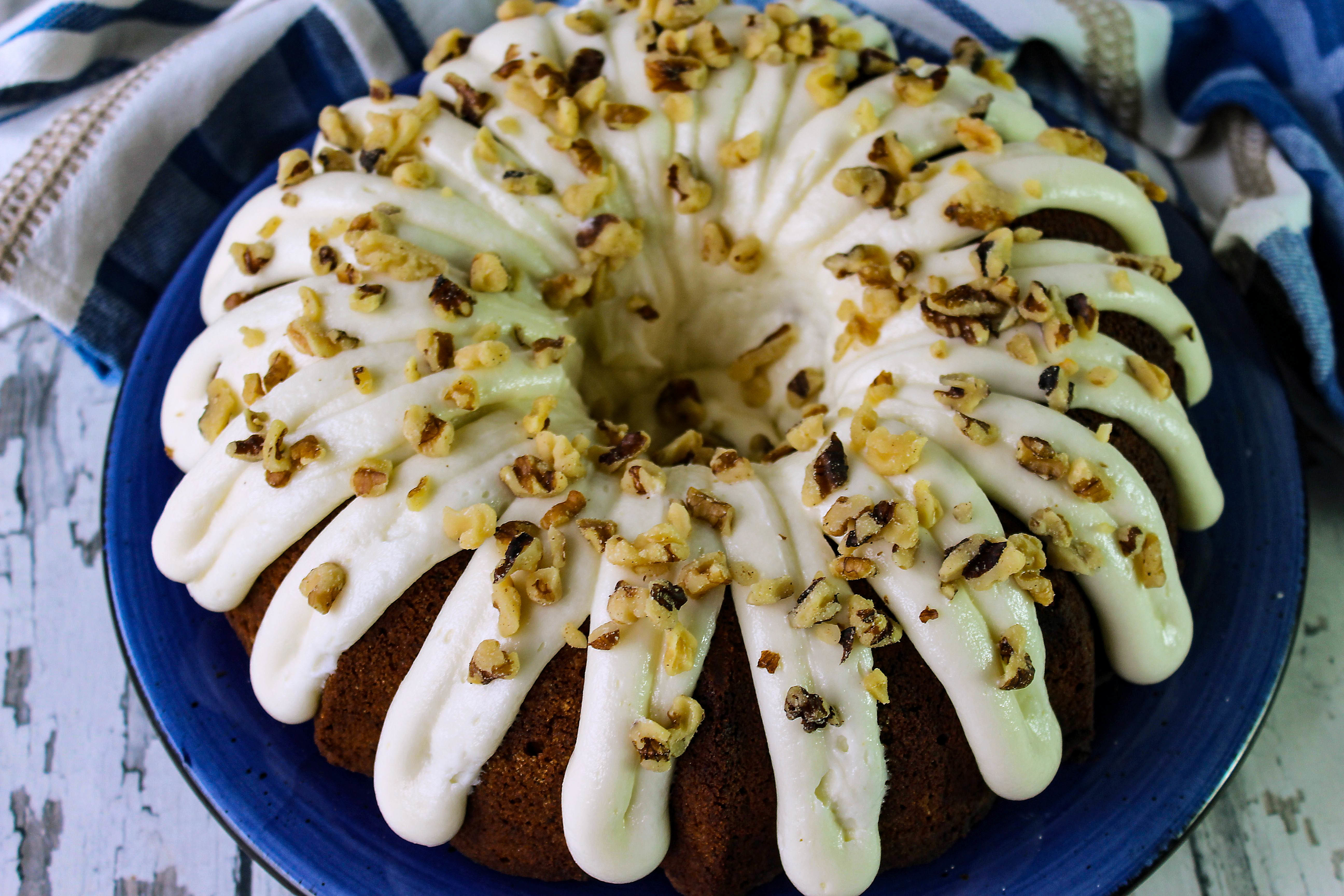 Peggy's Homemade Carrot Cake w/ Cream Cheese Icing Recipe