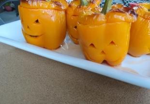 Jack O Lantern Stuffed Peppers Recipe