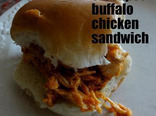 Hooters Style Buffalo Chicken Sandwich