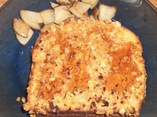 Caramel and Banana Stuffed French Toast Recipe