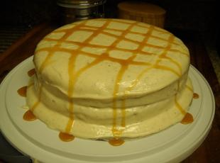 Traditional Southern Caramel Cake Recipe