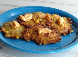 Bob W's Corn Cakes. Recipe
