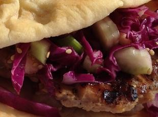 Sticky Piggy Bun Sandwich Recipe