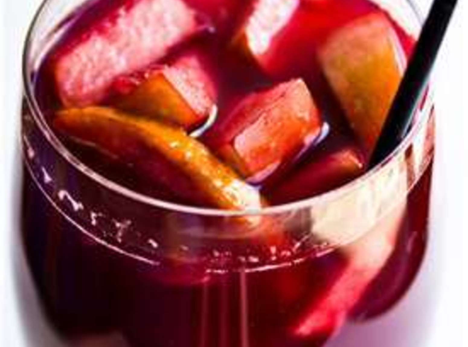 SPARKLING SANGRIA (NON-ALCOHOLIC) Recipe | Just A Pinch ...