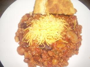 Kellie's 15-Bean Turkey Chili Recipe