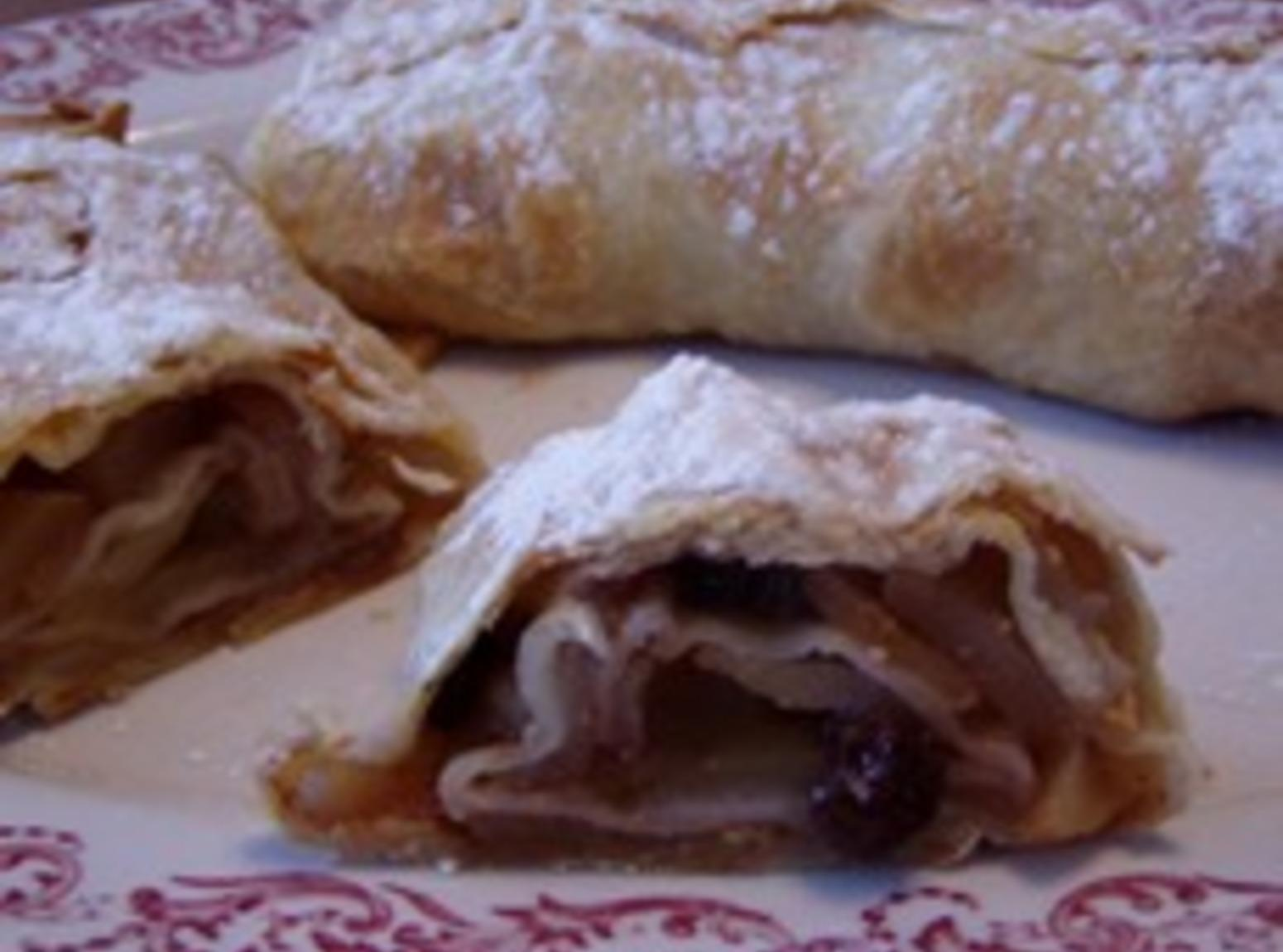 Baba's Apple Strudel w/opt fruits Recipe