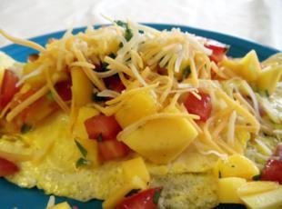 Mango Salsa Omelet