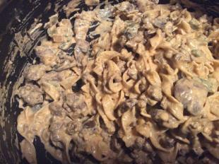 Stove top stroganofff Recipe
