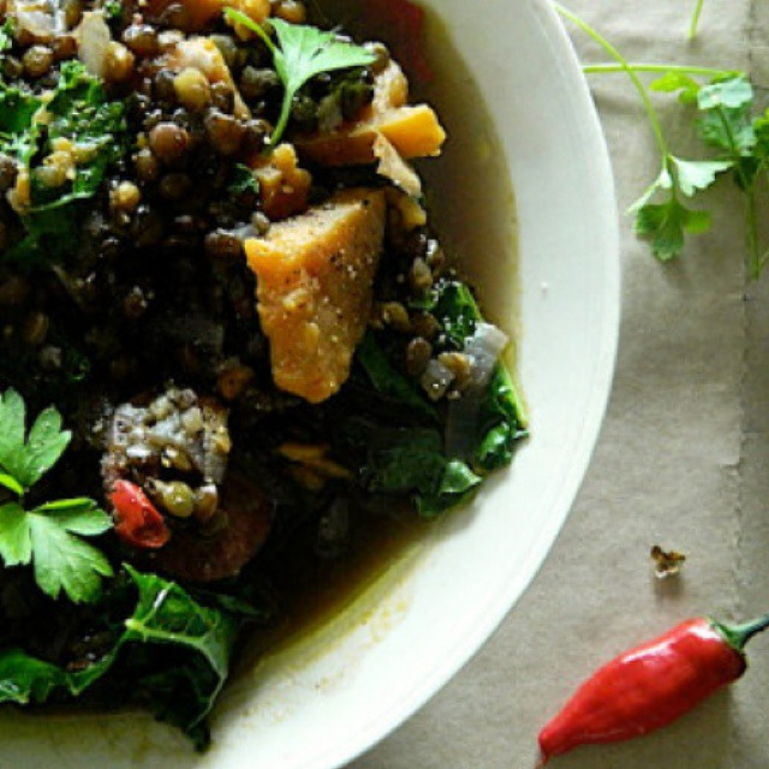 Hearty Winter Greens, Iris Recipe | Just A Pinch Recipes