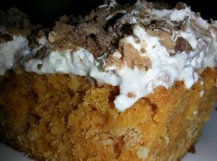 Pumpkin Cake or Pumpkin Bars Recipe