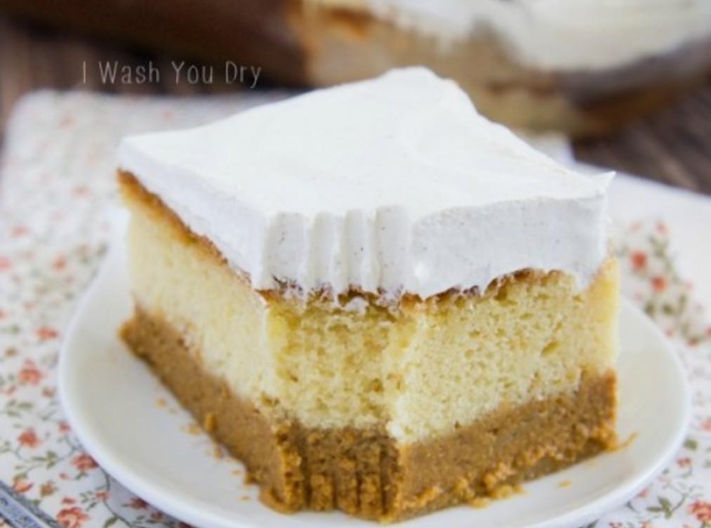 Pumpkin Magic Cake Recipe