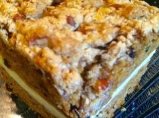 Pumpkin Streusel maple Cheese cake bread Recipe