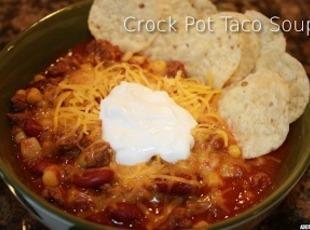 Mom's Taco Soup Recipe