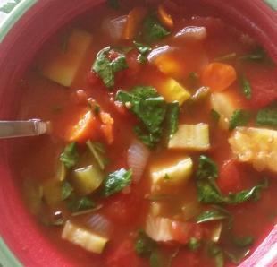 Mertzie's Tomato Veggie Power Soup