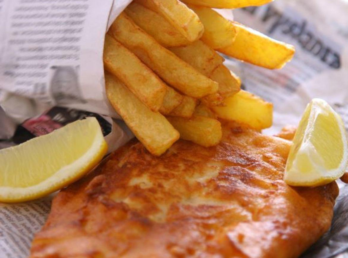 Fish and chips from across the pond recipe just a pinch for Fish chips recipe