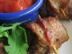 Chicken Livers Wrapped In Bacon Recipe