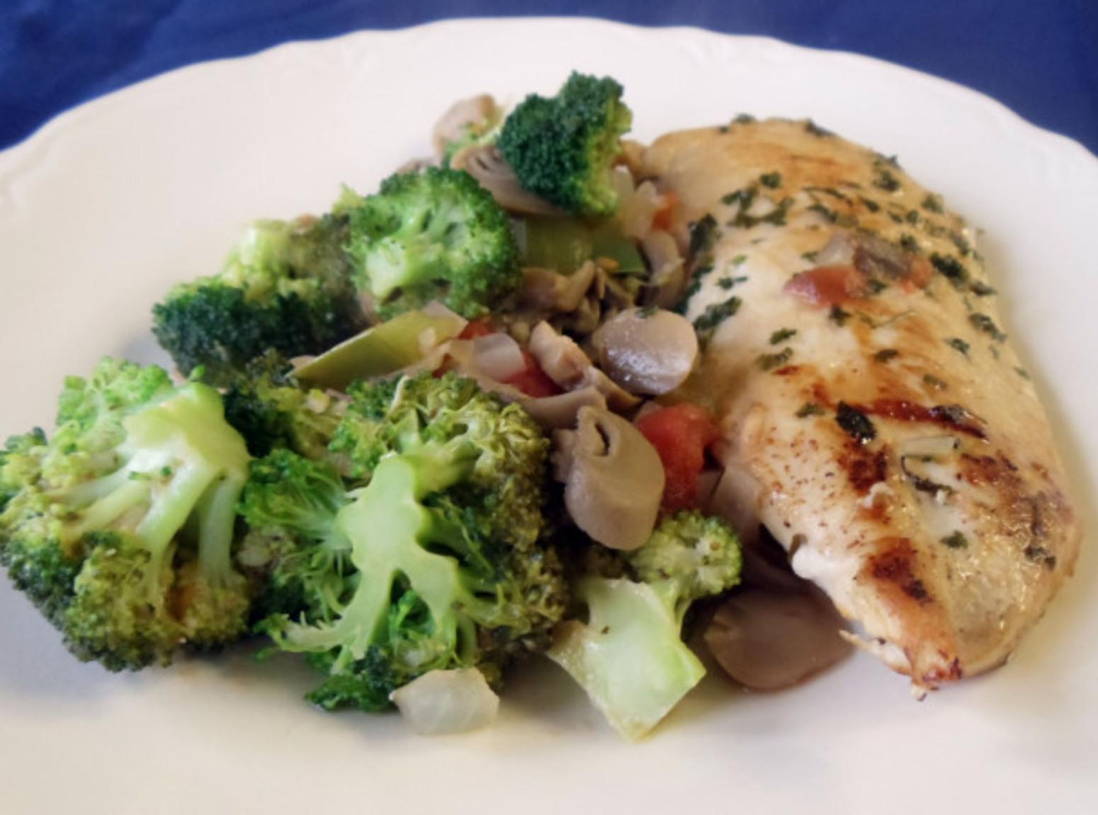 Evil Chicken & Broccoli Skillet Recipe