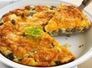 Yvonne's Cheeseburger Pie Recipe