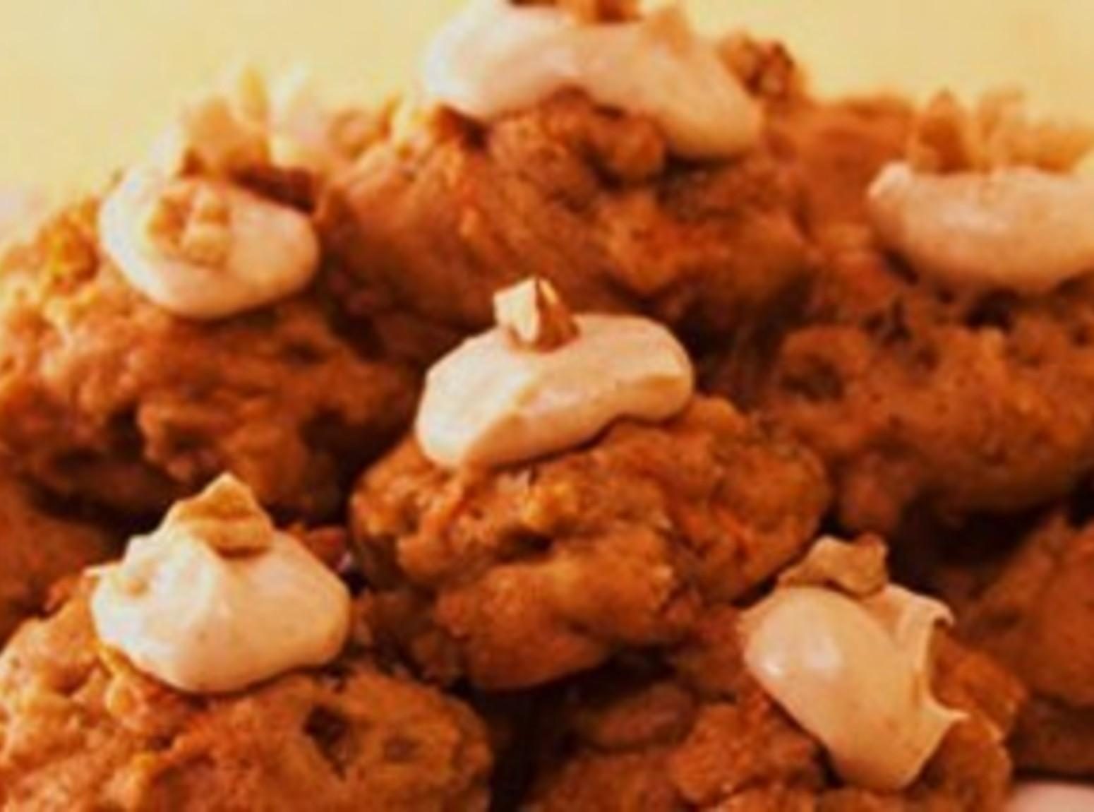 Carrot Cake Cookies with Cream Cheese Frosting Recipe
