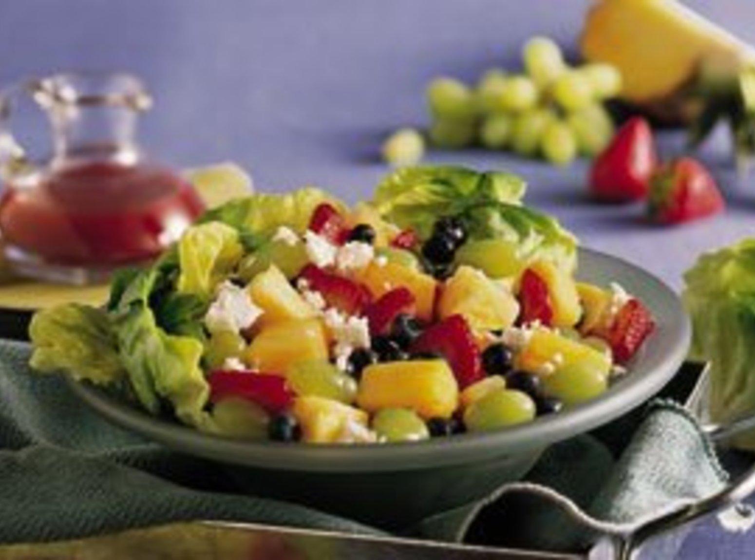 Easy Fresh-Fruit Salad Recipe